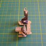 Bordatore multislot per macchine da cucire industriali o Necchi con attacco alto