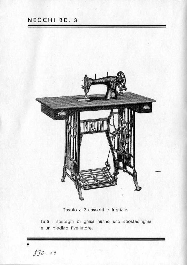 Quanto vale una macchina da cucire cannoli e tiramis for Quanto costa macchina da cucire